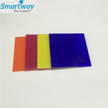 different color cheap price perspex fluorescent panel