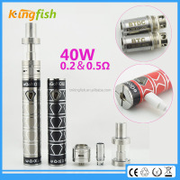 New product ego now arctic 3ml capacity 1300mah lcd screen twist battery with factory price