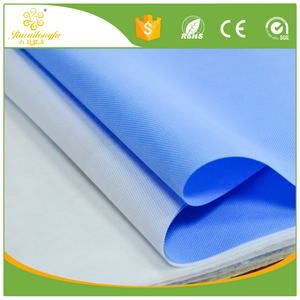Medical water repellent polypropylene spunbond non-woven fabric for disposable hospital bed sheet