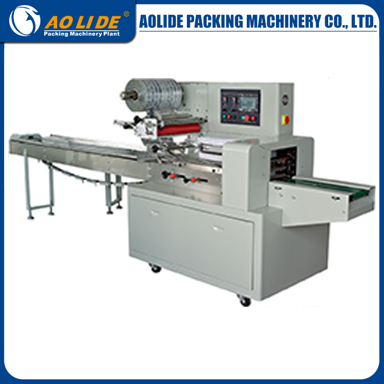 Full stainless pack machine auto sealing and cutting plastic bag packing machine ALD-450