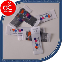 garment wash care labels plastic tags for clothing