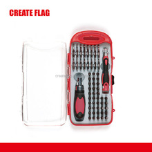 58pc Stubby Ratcheting Screwdriver Hand Tool Set
