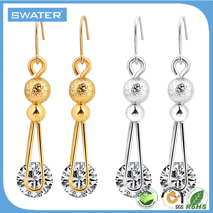 Accessories For Women Silver Gold Earring Finding Vintage Diamond Ball Drop Earrings