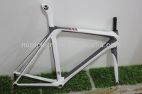 aero full carbon bicycle frame,new frameset for road racing