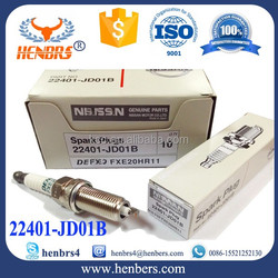 For Car genuine parts Denso Spark plug Iridium long life FXE20HR11 3439 22401-JD01B FXE20HE11