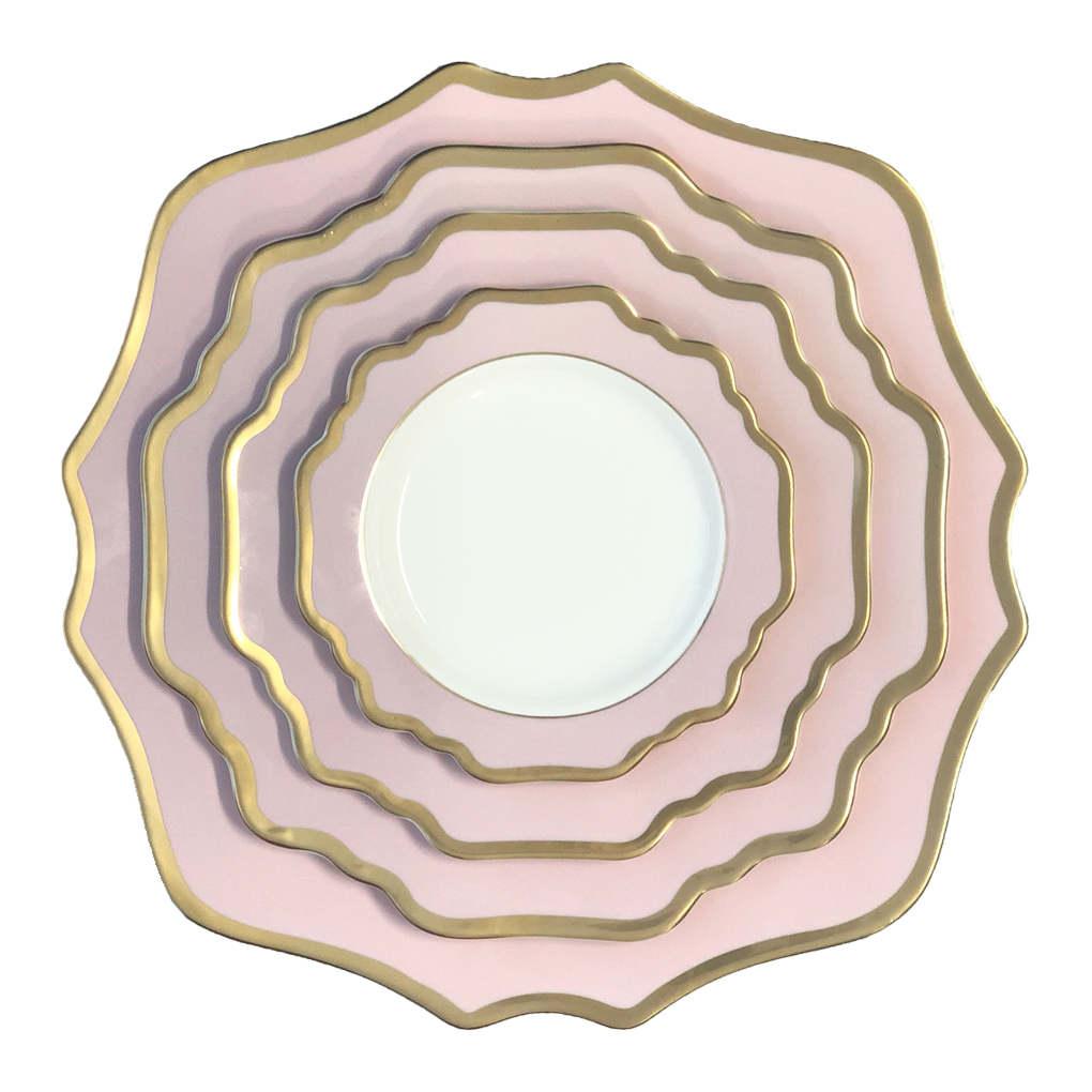 New product elegant wedding charger <strong>plates</strong> wholesale, decorative gold rim ceramic <strong>plate</strong> chargers