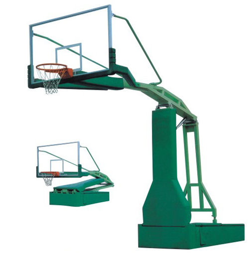 2016New type of Electric hydraulic basketball stand