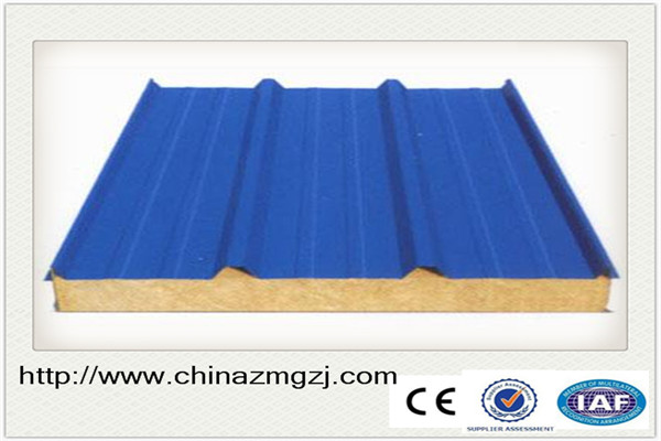 EPS PU steel prefabricated sandwich panel house