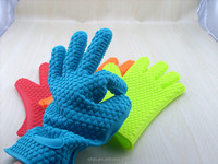 China wholesale silicone glove,kitchen silicone glove,silicone oven glove
