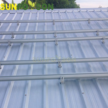 Sunforson alluminium alloy stainless steel materail pitch or tile flat roof mounting brackets solar rack