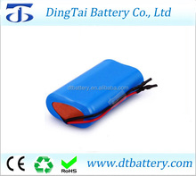 18650 3.7v 7ah lithium-ion battery pack 1s2p with PCB protection
