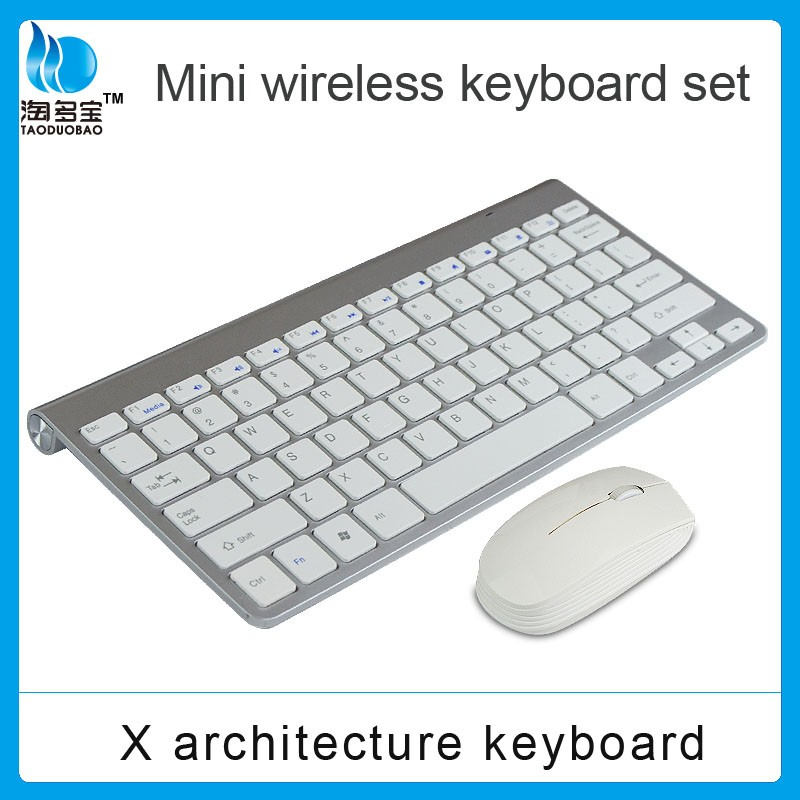 2016 wholesale cheap economic wireless keyboard and mouse combo