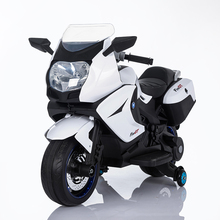 Wholesale new huada car toy ride on battery operated kids baby electric motorcycle