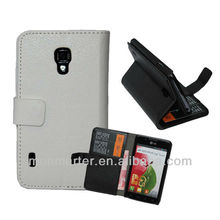 Hot Pu Leather Wallet Travel Case Universal Cover For LG Optimus L7 II P715