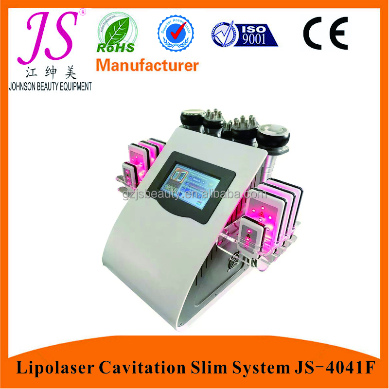 Lipo laser weight loss beauty machine / Vacuum Cavitation Lipolaser Slimming System / Weight Lose Equipment