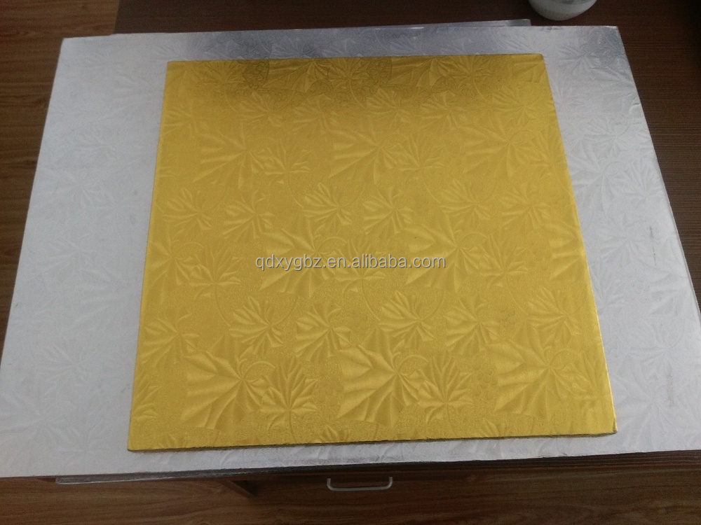 cardboard/corrugated paper cake boards cake trays wholesale