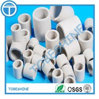 6mm 25mm ceramic raschig ring ceramic random packings for scrubber/column/tower