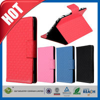 C&T Genuine Leather Folio Card Holder with stand for apple ipad air 2 case