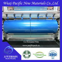 China manufacturer 9 layers co-extruded high barrier PA/PE films for food packaging