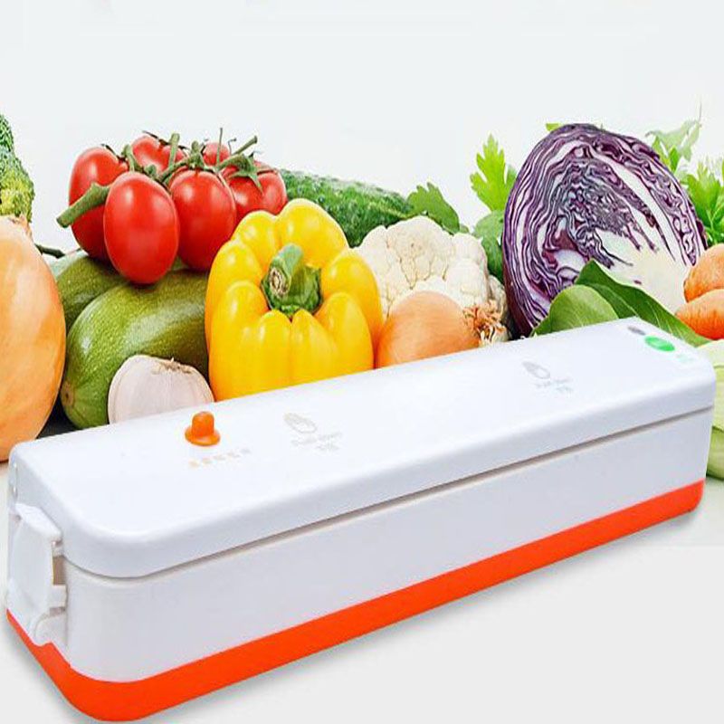 kitchen mini food saver vacuum sealer food preservation vacuum bags packaging machine prevent the breeding of bacteria
