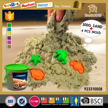 Bana new educational toys with 4 mold sand mars modeling sand