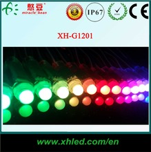 Outdoor decoration DC 5V 12mm IC16716 DXM control RGB full color led pixel christmas light