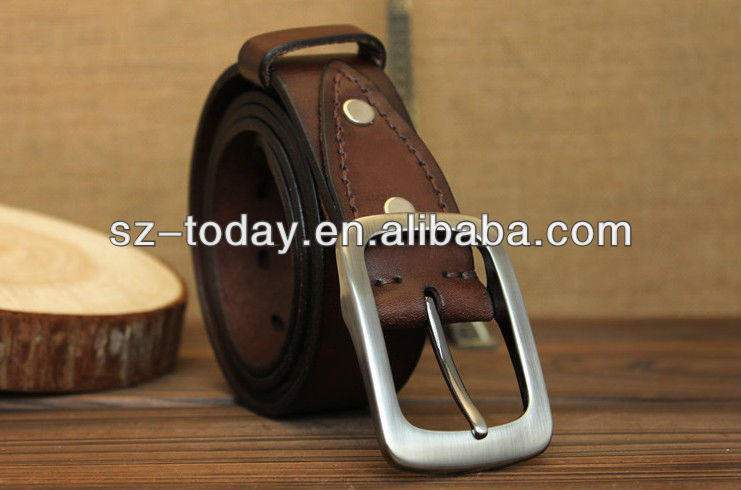 leather watch belts,fashion holes colored leather belts,custom name leather belt