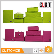 BUBM Travel Duffel bag 7 pcs luggage packing bag cube organizers