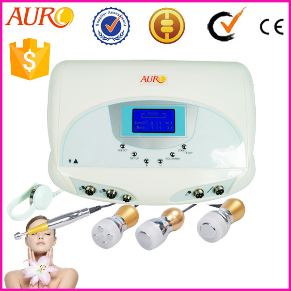 AU-49B 5D micro current 5 in 1 Mesotherapy Gun cooling ampoules injection