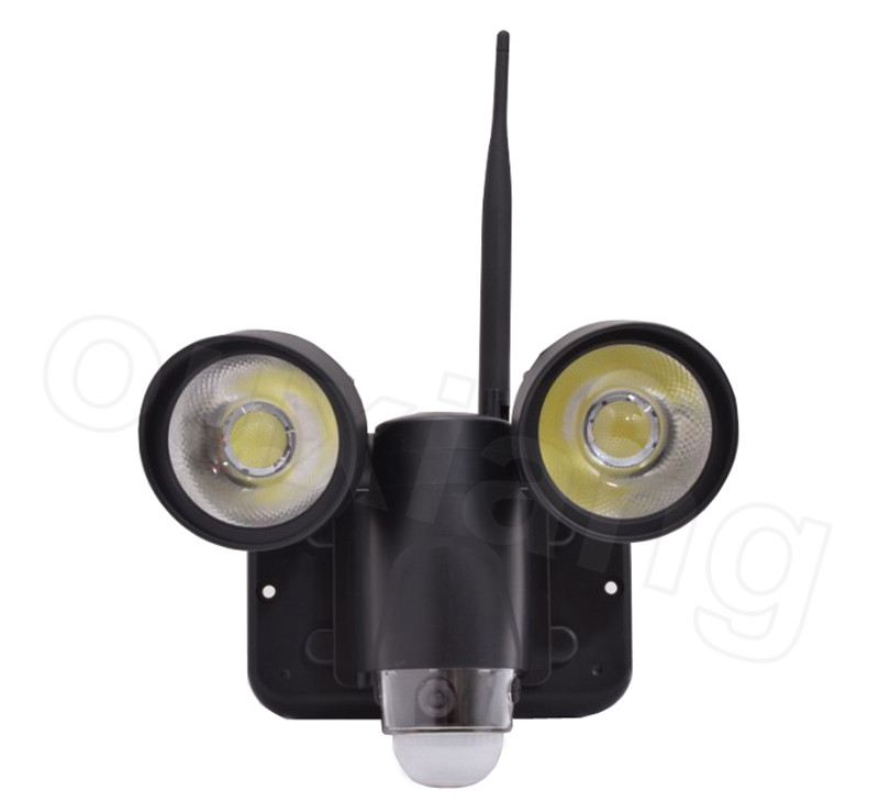 720P video record floodlight dvr security light camera ZR720