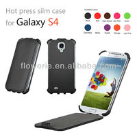 FL1020 hot press leather case For samsung galaxy s4 case,galaxy s4 i9500 leather case