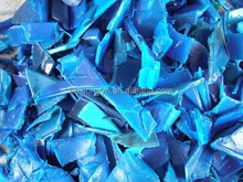 factory Recycled HDPE drum/bottles scrap/ HDPE flakes/hdpe granules