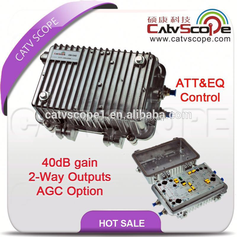 CATV Trunk Amplifier/ Outdoor Bi-directional Amplifier GM1040