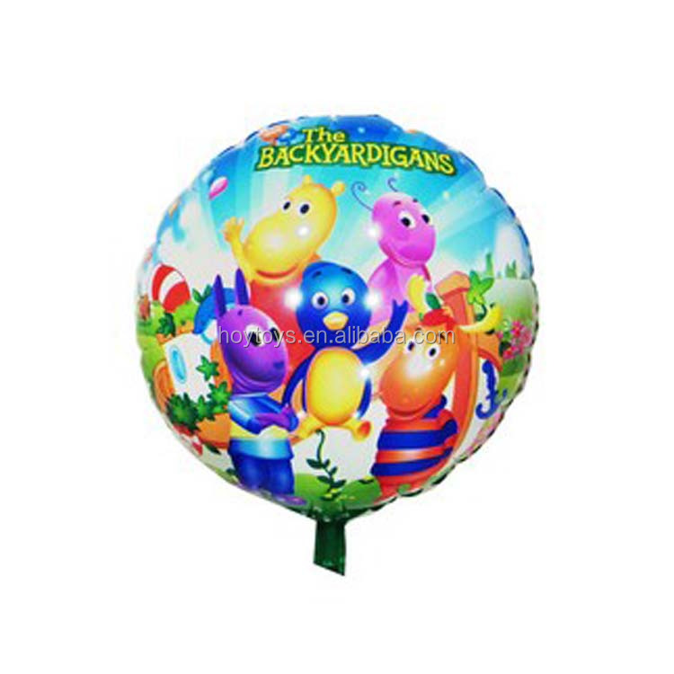 Cartoon Backyardigans Mylar Foil Balloon Wholsale