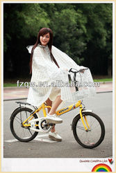EVA bicycle rain poncho