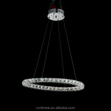 Fashion Simple Crystal LED Ring Pendant Light Model RT1411