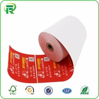 Pre-printed thermal paper roll bond paper roll