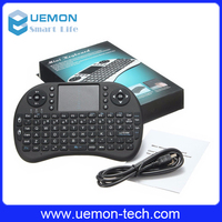 2016 2.4g Mini Rii I8 Wireless Keyboard Remote Controls Air Mouse With Touchpad Keyboards 92 Keys For Andriod Tv Box Tablet Pc