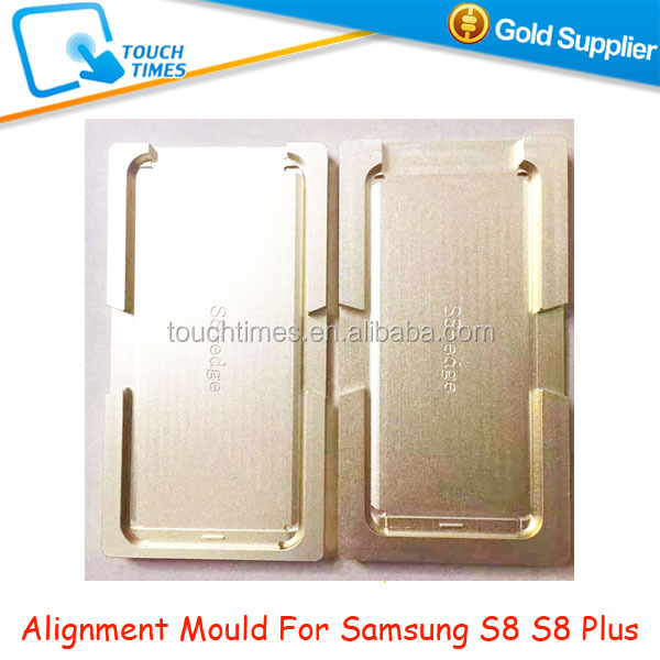 Precision Metal Mold OCA Positioning Aluminum Mould for Samsung Galaxy S8 S8 Plus LCD Glass