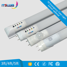 Alibaba Trade Assurance 18w 22w auto motion sensor led emergency light lamp battery power emergency tube