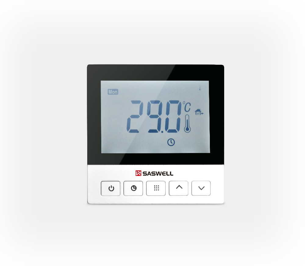 NEW FACTORY PRICE SAS921WHL digital central control floor heating thermostat used for electric water heater 3A