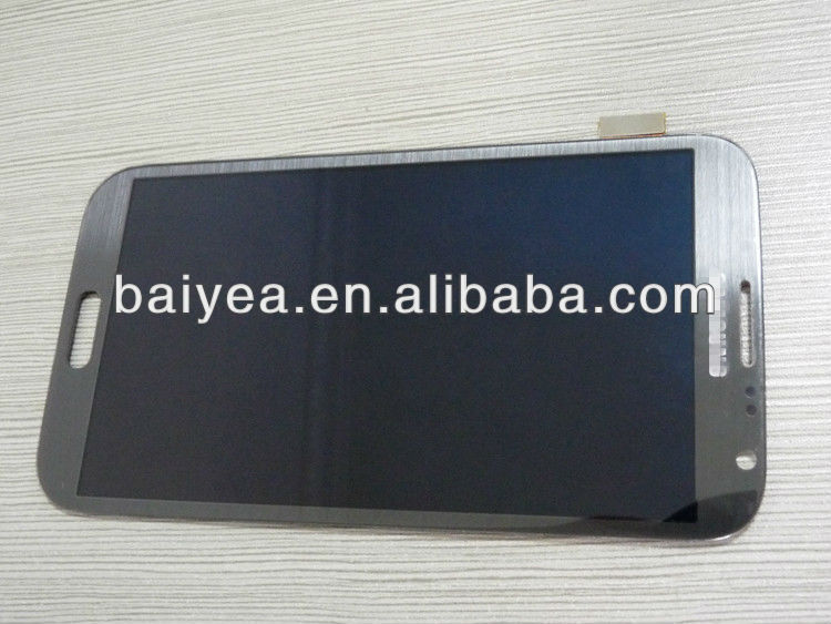 OEM new for Samsung note2 N7100 Combo lcd with digitizer touch screen assembly