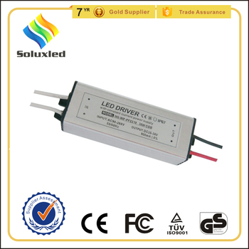 30w waterproof led driver for flood light