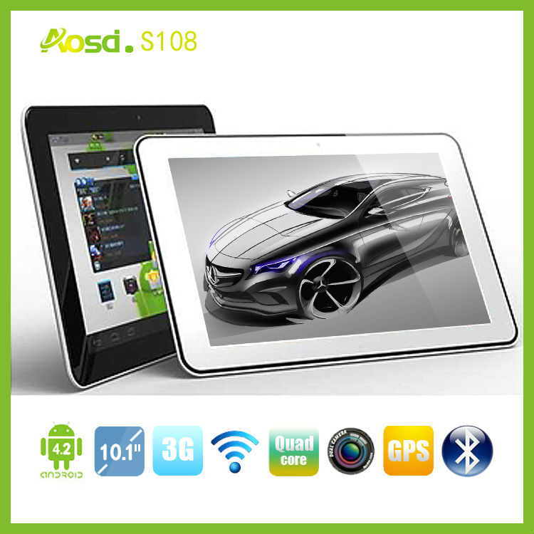 Made in China android 3g phone call dual sim card quad core MTK6589 10.1 Tablet PC