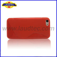 S Line Case Cover for Iphone5c TPU Phone Case for Iphone5c, New Product,Laudtec