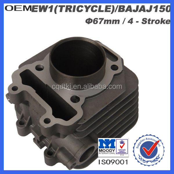 motor tricycle cylinder for Bajaj 150cc