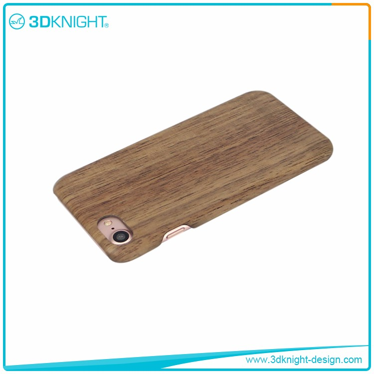 China Supplier Luxury Walnut Wooden Bumper Cases For Iphone 7 /Blank Wood Case For Iphone 7