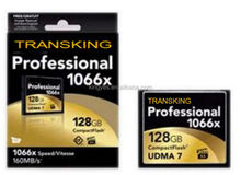 Real Memory Card Supplier OEM New Brand Professional 1066X UDMA 7 Compact Flash CF Card Memory Card 32GB 64GB 128GB