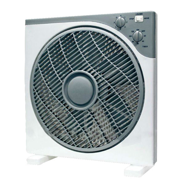 12 Inch Square Box Fan with Timer for Wholesale Price
