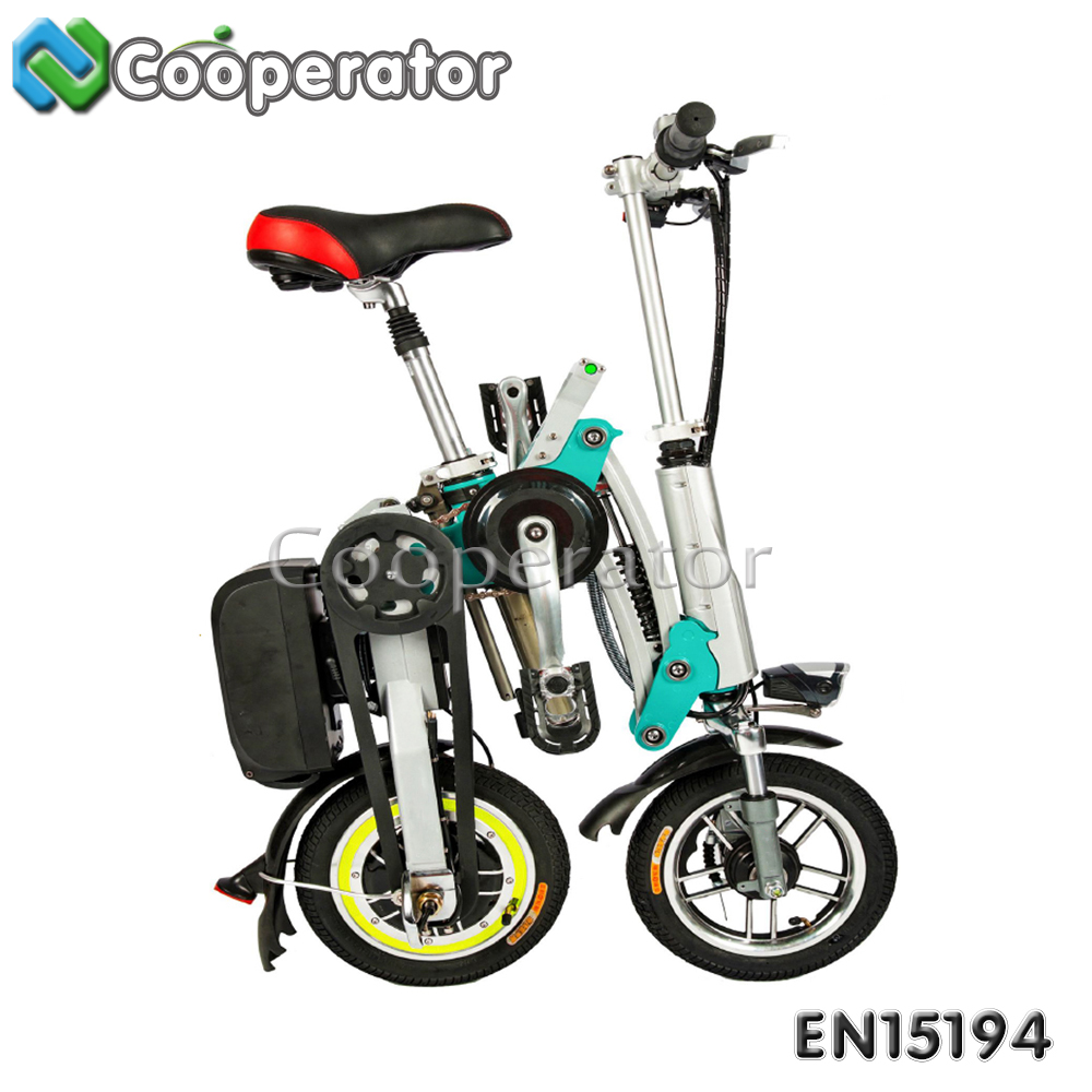 Portable folding electric bike, cheap electric scooter, electric mini scooter